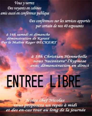 Salon de bien etre de la voyance cernay yannick for Salon de la voyance